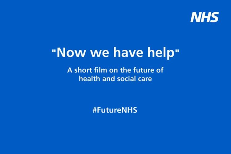 Now we have help - the future of health and social care