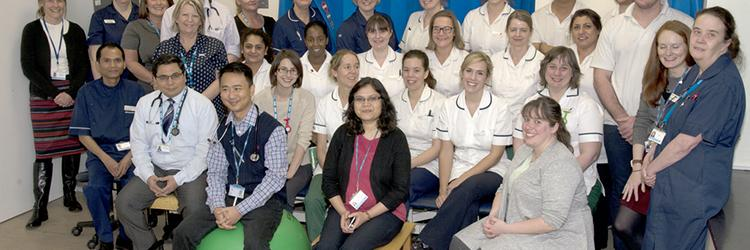The Stroke Team at Lister Hospital, Stevenage